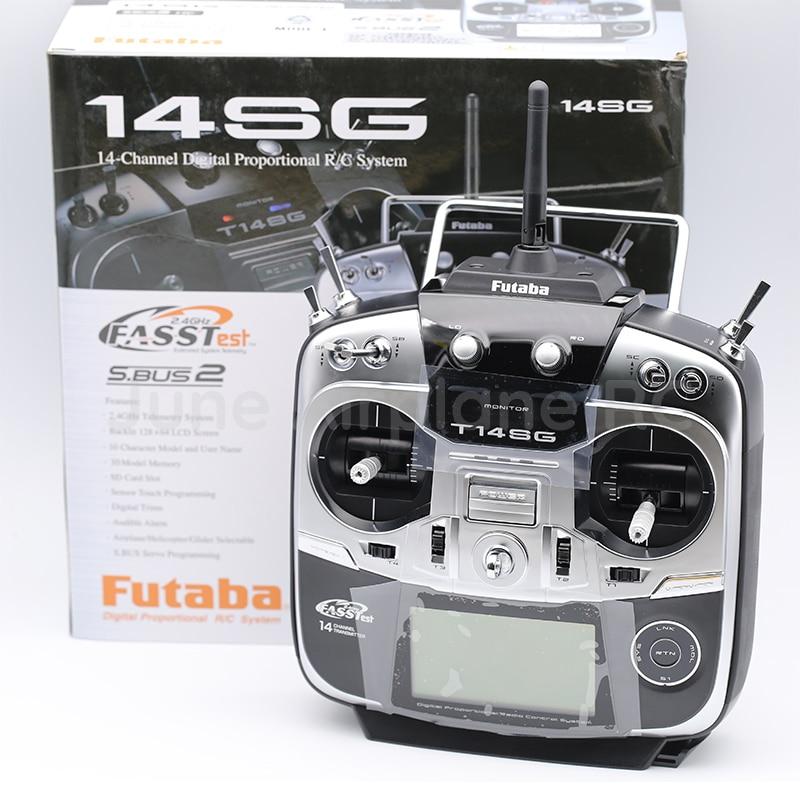 Futaba 14SG 2.4Ghz FASSTest 14ch émetteur et R7008SB HV récepteur pour hélicoptère RC Multicopter Mode 2