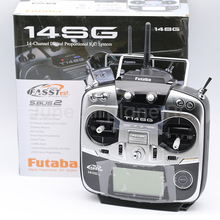 Futaba 14sc 2,4 ГГц FASSTest 14ch передатчик и R7008SB HV приемник для радиоуправляемых вертолетов, мультикоптеров, режим 2
