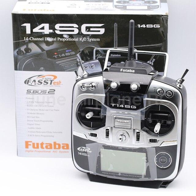 Trasmettitore Futaba 14SG 2.4Ghz FASSTest 14ch e Modalità di R7008SB HV Ricevitore per RC Helicopter Multicopter 2