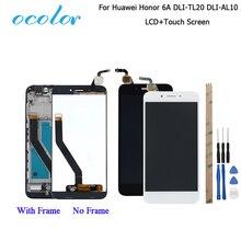 Ocolor עבור Huawei Honor 6A DLI TL20 DLI AL10 LCD תצוגת מסך מגע + מסגרת עצרת עבור Huawei Honor 6A פרו LCD + כלים