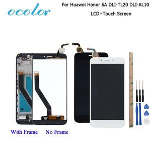 Image 1 - Ocolor huawei社の名誉 6A DLI TL20 DLI AL10 lcdディスプレイとタッチスクリーン + フレームアセンブリhuawei社の名誉 6Aプロ液晶 + ツール