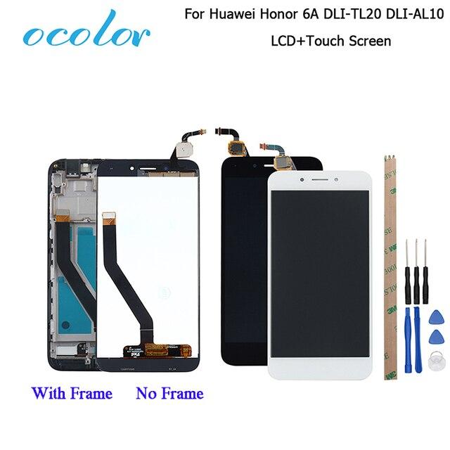 Ocolor huawei社の名誉 6A DLI TL20 DLI AL10 lcdディスプレイとタッチスクリーン + フレームアセンブリhuawei社の名誉 6Aプロ液晶 + ツール