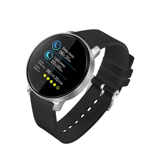 ZGPAX S226D Smart Watch Men Women Fitness Tracker Heart Rate Monitor Smart Bracelet Blood Pressure Pedometer For Android IOS
