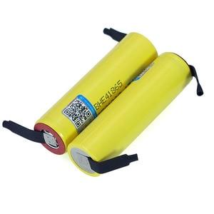 Image 4 - 100% New Original HE4 18650 Rechargeable li lon battery 3.6V 2500mAh Battery 20A 35A discharge + DIY Nickel sheet
