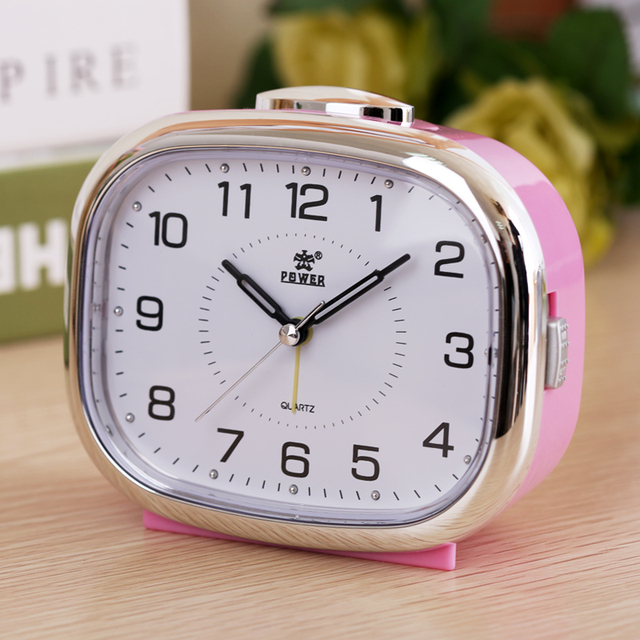 Small night lamp bedside alarm clock music creative personality of students lazy children bedroom modern square table