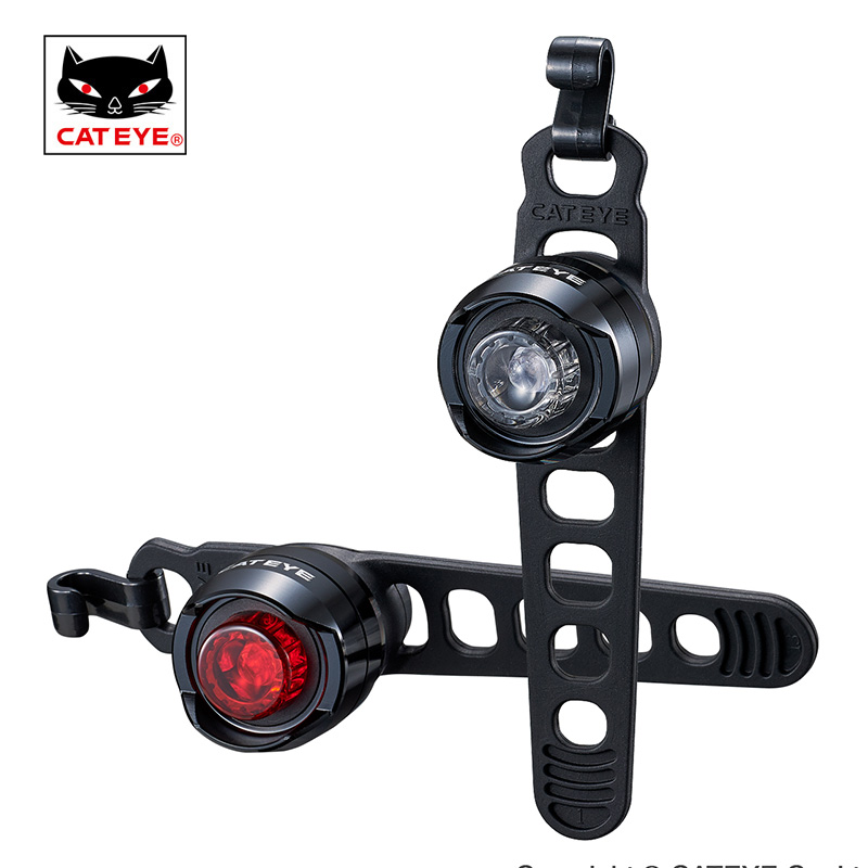 CATEYE Bike Light Bicycle Led Front Light Lamp For Bicycle Rear Light Waterproof LED Safety Tailllight Cycling Accessories bicycle hub light bike wheel lamp led bicycle decoration light waterproof shockproof cycling lamp bike accessories safetywarning