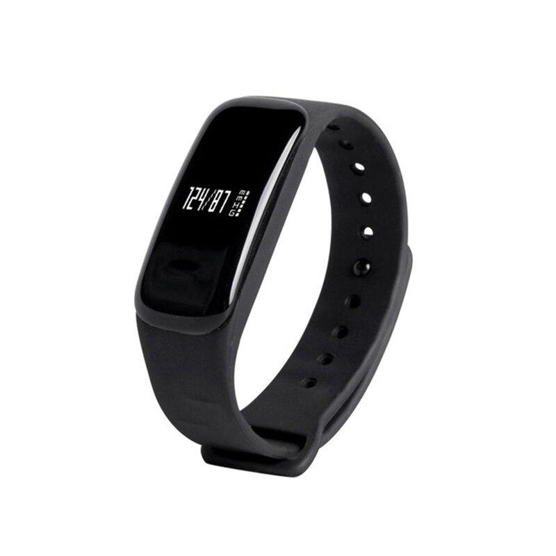 C1 Bluetooth Smart Wristband Bracelet Smartband Heart Rate Monitor Pulse Blood Pressure Smart bracelet for Apple Android Phone