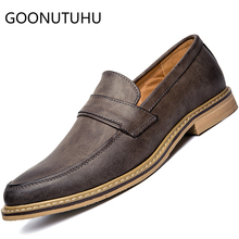 Fashion men's shoes casual leather loafers male classic brown gray and black slip on shoe man comfortable shoes for men hot sale ubfen 2017 hot sale casual shoes for men handmade slip on comfortable and soft fashion classic loafers male lazy driving shoes