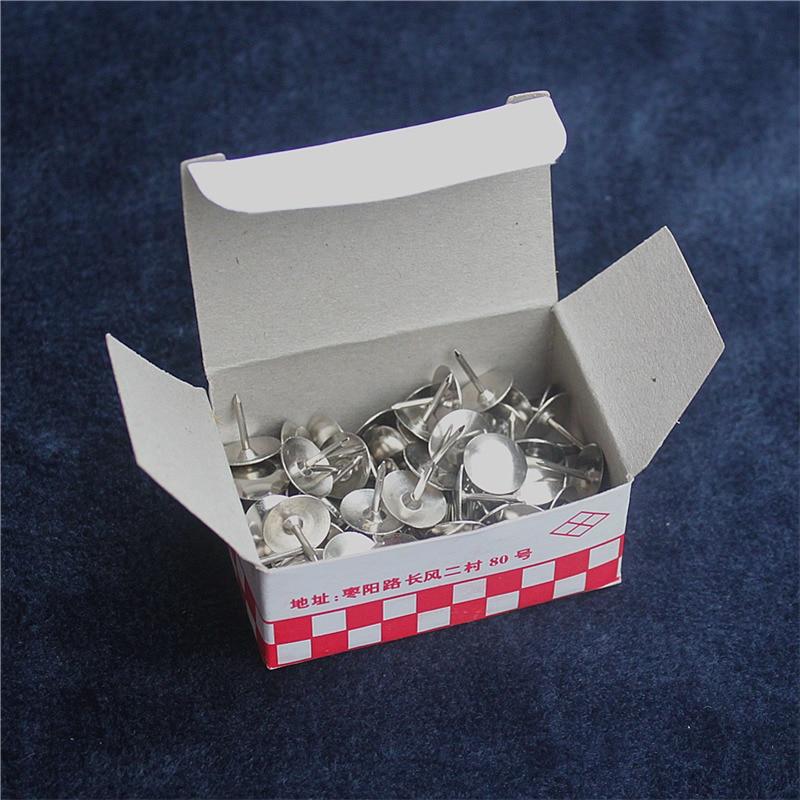 85pcs/box High Quality Metal Thumb Tack Office Supplies Pushpin Scene Poster Push Pin Pins