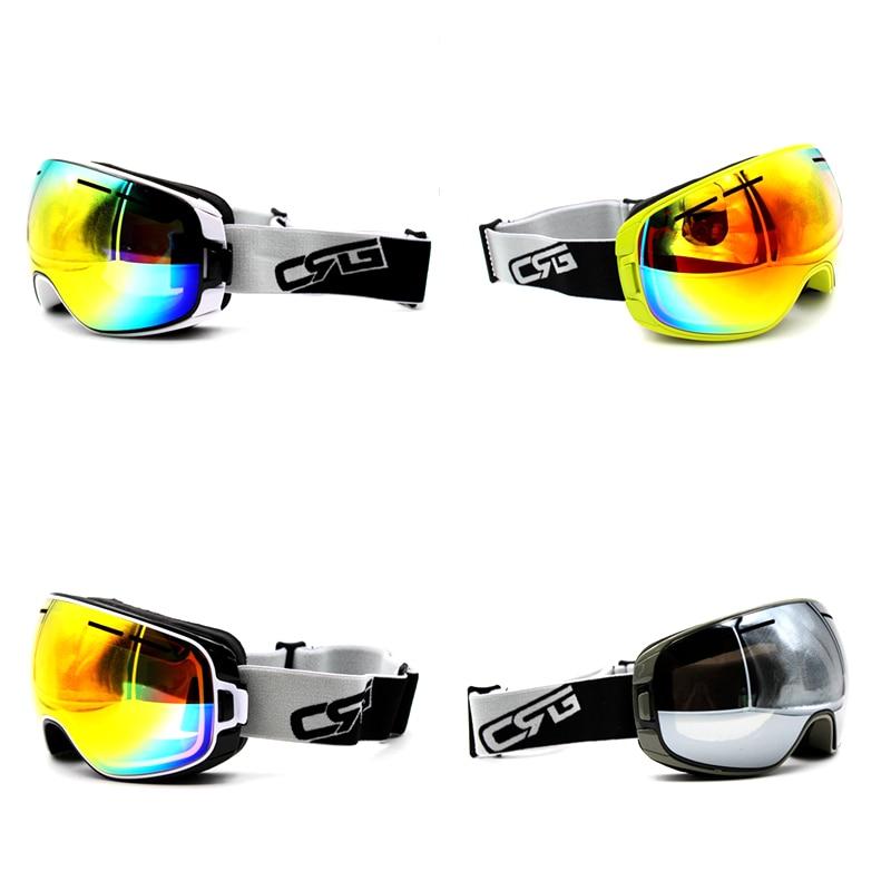New Arrive 4 Styles New Brand Ski Goggles UV400 Anti-Fog Eyewear Mask Glasses Skiing Men Women Snow Snowboard Goggles