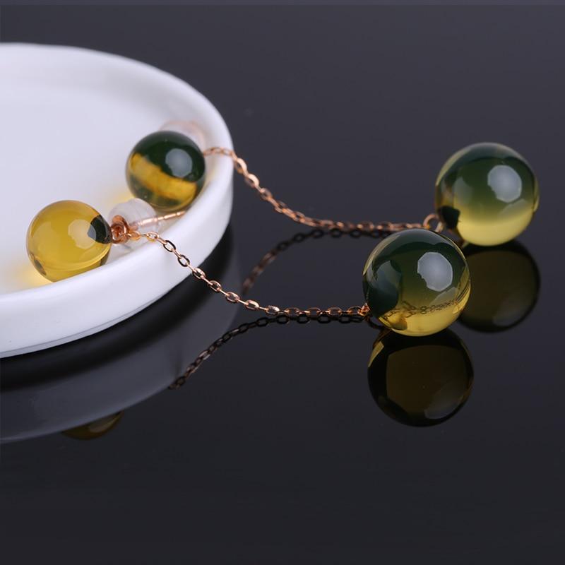 янтарные серьги на алиэкспресс