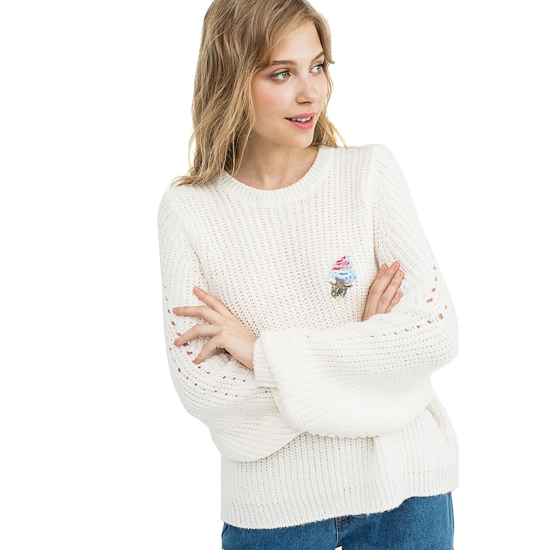 Sweaters befree 1831354867-60 jumper sweater pullover women clothes for female apparel TMallFS