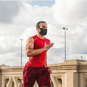 Image 5 - 3/6 قطعة واقية الغبار قناع قابل للغسل القماش Maskss للكبار PM2.5 حبوب اللقاح الجسيمات للأطفال 4 11Fashion سلامة قناع واقٍ