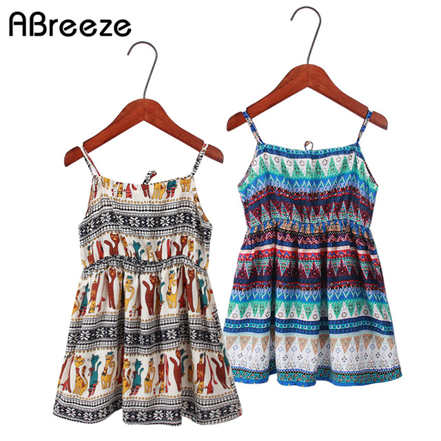 3cf0d8d67ca8 Abreeze summer girls clothing 2T 6T 12T baby child beach dresses ...