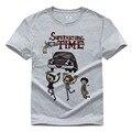 Злой силы Сверхъестественное футболка мужская с коротким рукавом DIY Tee топы Сэм и Дин Винчестер Брат Футболки Американский сериал