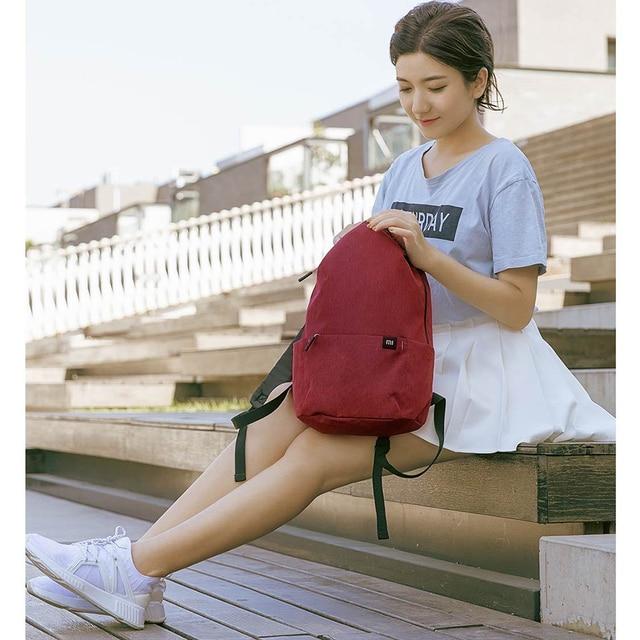 2020 New Xiaomi Colorful Mini Backpack Bag 8 Colors 6