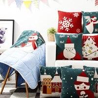 Fashion Christmas Gift High Quality Multifunction Back Cushion Blanket Office Sofa Blanket