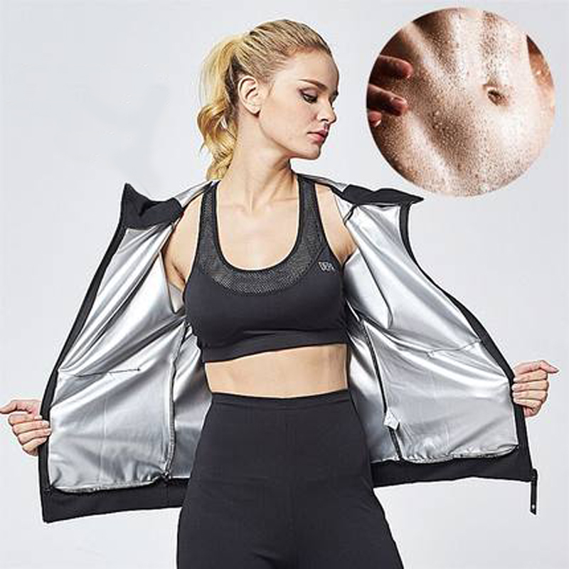 Women Hot Shaper Neoprene Sweat Sauna Long Sleeve Jackets Sporting Fitness Hot Body Shaper Shapewear slim
