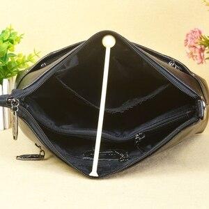 Image 4 - กระเป๋าถือสตรีกระเป๋าหนังแท้สุภาพสตรีกระเป๋า Crossbody ขนาดเล็กสำหรับหญิง Messenger กระเป๋า Bolsas