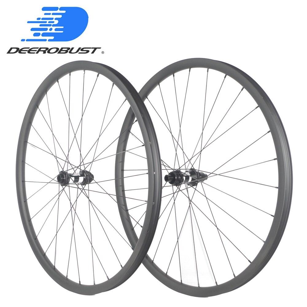 1296g 29er carbono boost wheels 30mm assimétrico tubeless 25mm profunda tração reta mtb xc rodado micro spline 110mm 148mm 11s 12s