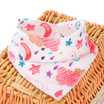 Oklady New Baby Bibs Cotton Bibs Soft Baby Smock Newborn Boys Girls kids Bibs Cartoon Baby Stuff 2