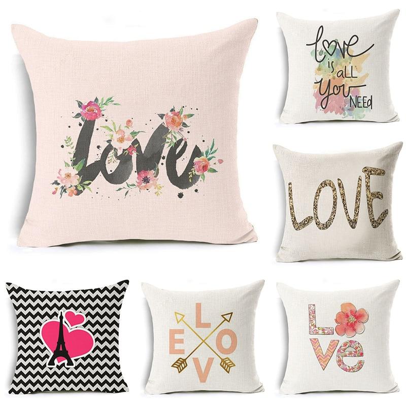 NºComwarm colorido carácter floral romántico amor palabra patrón ...