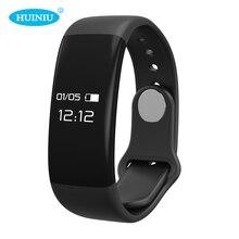 Huiniu H30 Смарт браслет bluetooth сердечного ритма Мониторы Смарт Браслет Tracker Фитнес часы для Android и IOS