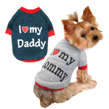 """I Love My Mommy and Daddy"" Yorkie Hoodie"