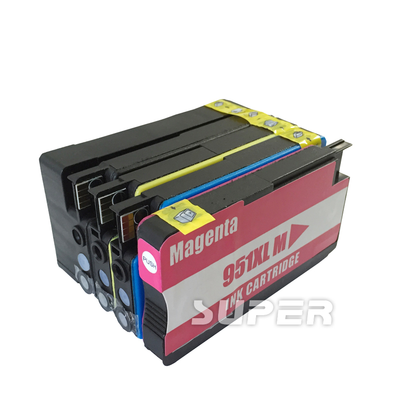 4x For HP 950 951 XL Compatible ink Cartridge for 950XL 951XL Officejet pro 8100 8610 8620 8630 8600 plus