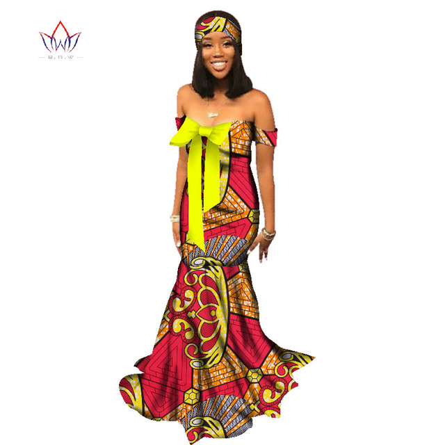 African Fashion Clothing Designs | 2018 African Dresses For Women Fashion Design Dashiki Women Bazin