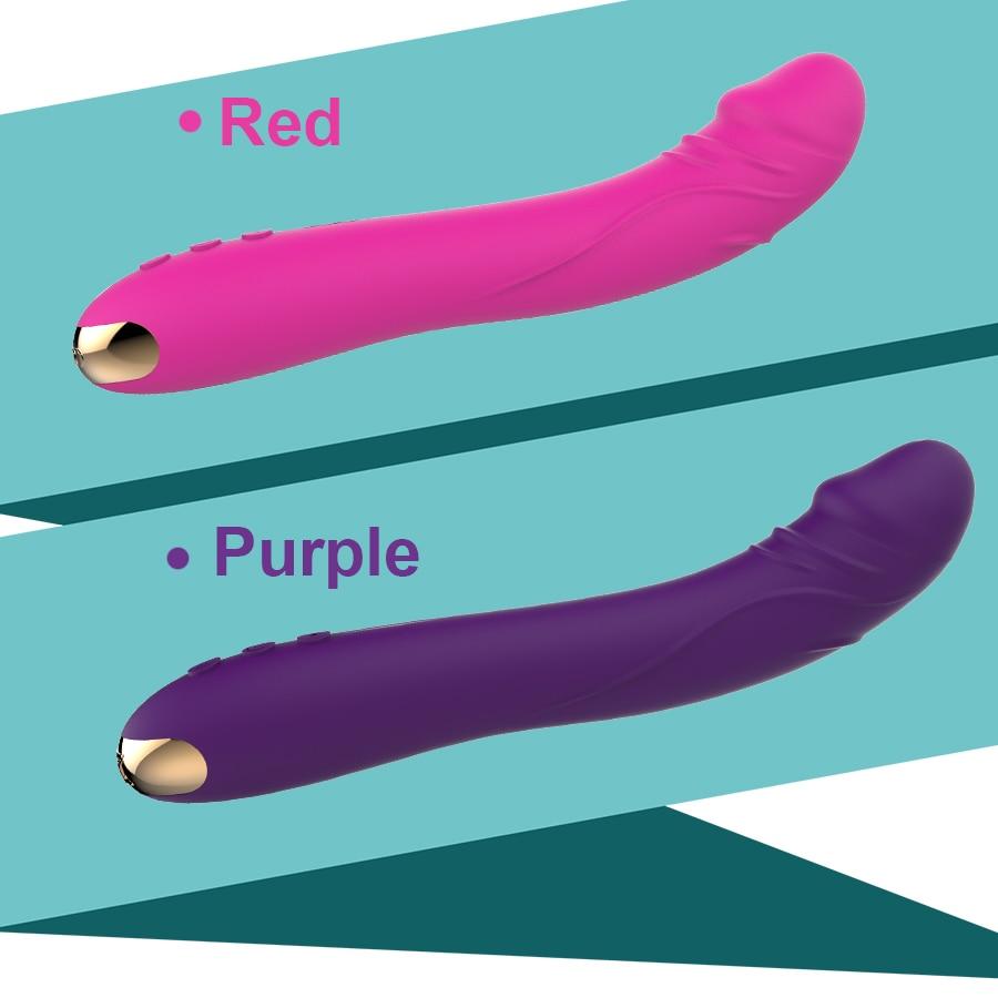 FLXUR 10 Modes Real Dildo Vibrator for Women