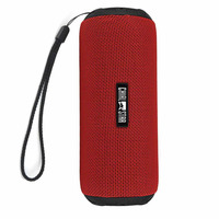 Bluetooth Speakers Red Portable 12W Bluetooth 4 1 Wireless Sports Speaker With IPX6 Waterproof Fabric Covering