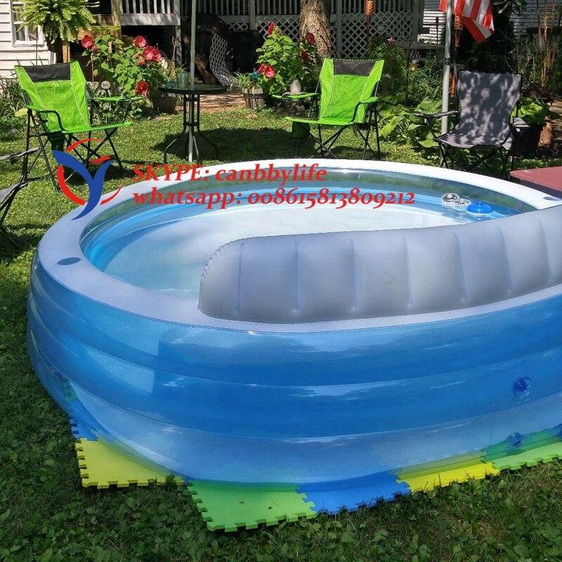 INTEX d\'été jardin cour famille taille gonflable salon piscine avec ...