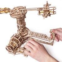 UGEARS деревянная механическая сборка подарков на день рождения для пилотов Подарочная модель
