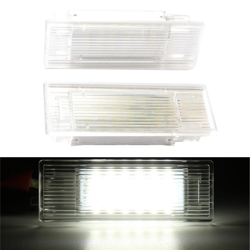 Super bright 18 SMD LED Luggage Compartment Light Lamp for BMW F10 F20 F30 error free car Interior Luggage Trunk Light bulb