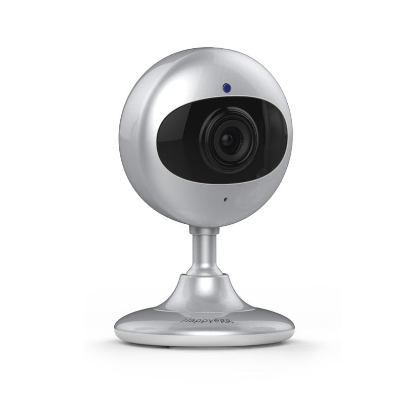 "Happyegg HD Mini Wifi 120"" IP Camera Wireless 720P Smart Baby Monitor Network Home Protection Mobile Remote camera baby monitor"