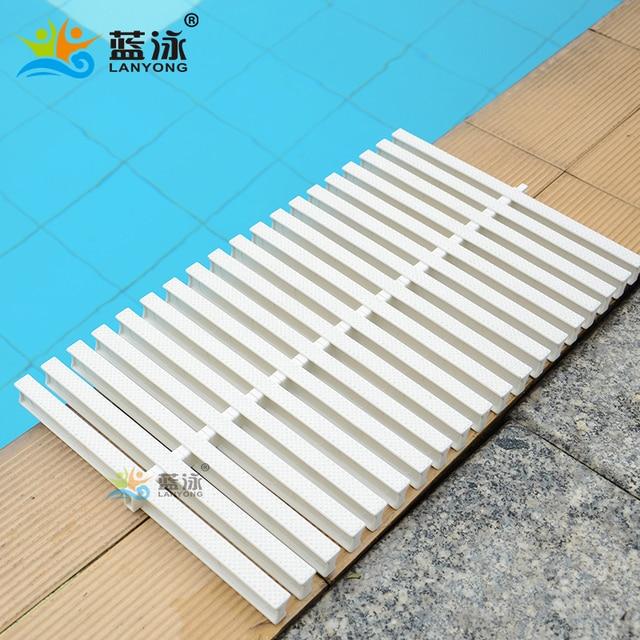 15cm Swimming Pool Grid Water Grid Slip Resistant Grating Sink Bargeboard Floor Drain Bargeboard