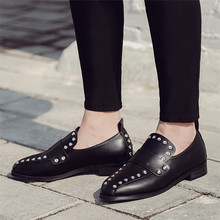 High Quality Casual Flats Women Low heel Office Shoes Slip On Loafers Woman Oxfords Career Flat Shoes