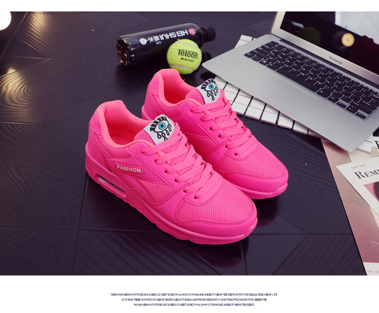 18 Fashion Sneakers Women Shoes Spring Tenis Feminino Casual Shoes Outdoor Walking Shoes Women Flats Pink Flas Ladies Shoes 28