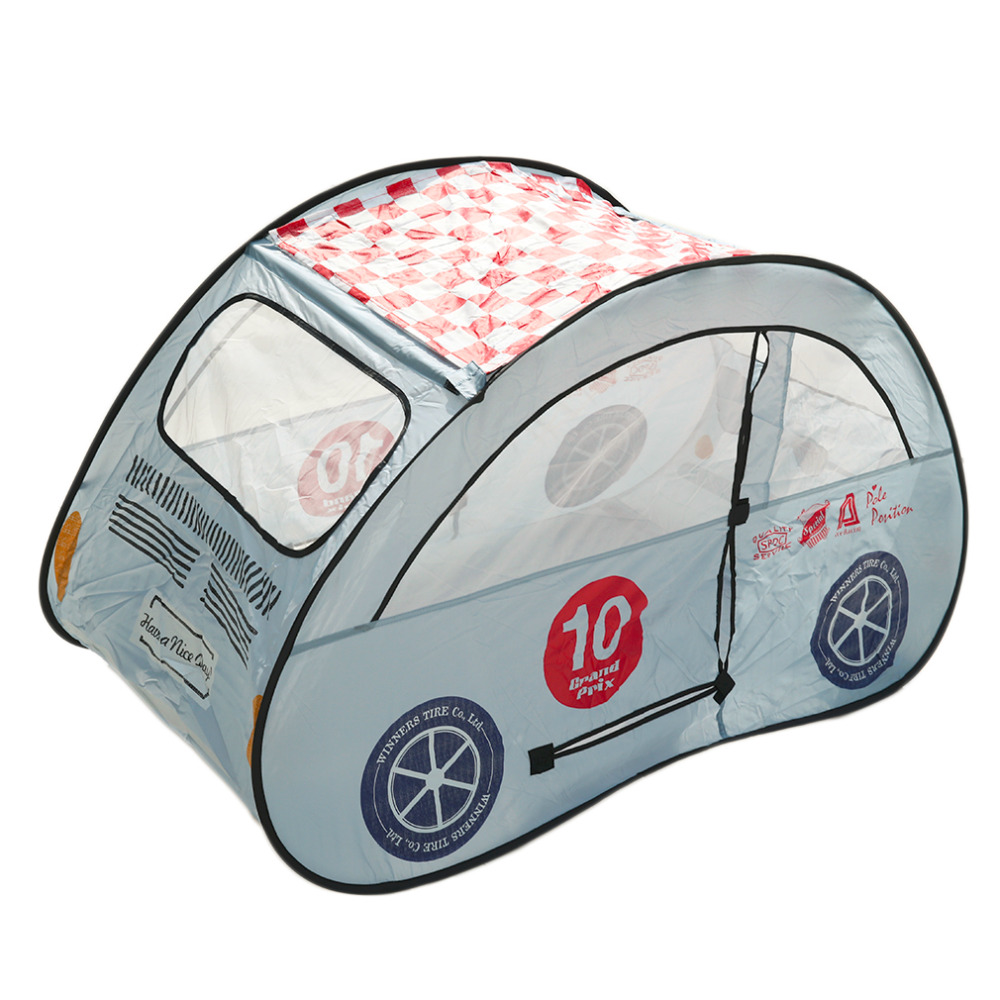 Dazzling Toys Kids Pop-up Car Play Tent Game Hut Easy Twist-fold to Store new