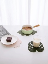 Irregular Coasters Insulation Placemat Food Grade Silicone Table Pad Waterproof heat insulation Home and Kitchen Accessories radiation insulation and moisture proof heat exchanger and waterproof air conditioner tube heat pipe insulation tape