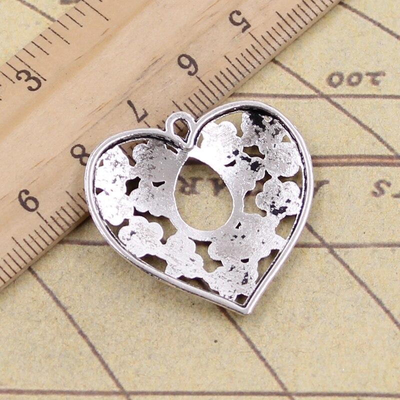 4 pcs Baby Bear Tibet silver Charms Pendants DIY Jewellery Making crafts