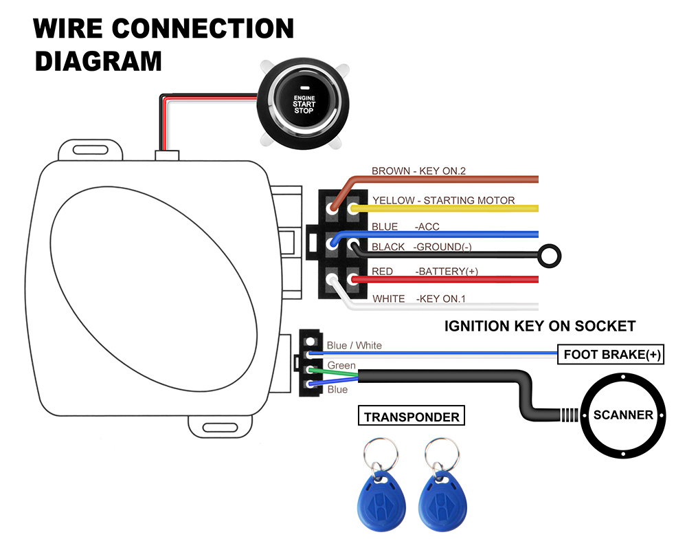Generic Car Alarm Wiring Diagram Great Design Of Viper Wire Audio Prestige Auto Alarms