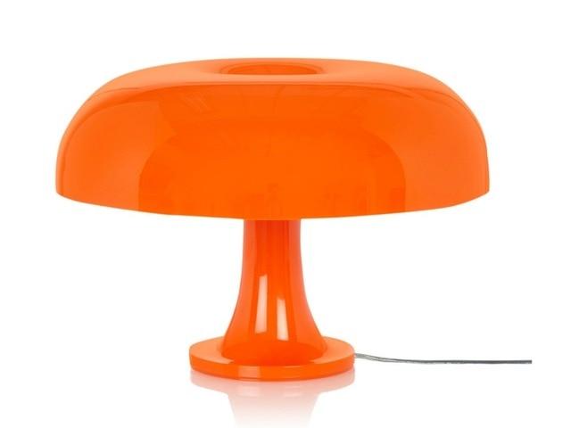 Modern Mushroom Table Lamp White Orange Desk Lights Tl89