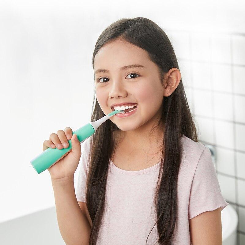 Xiaomi Mijia SOOCAS C1 Sonic Electric Toothbrush Waterproof children Tooth Brush kid ultrasonic toothbrush USB wireless charging-in Toothbrushes from Beauty & Health    3