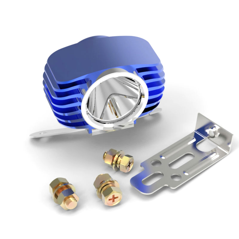 blue led headlight fog light spotlight