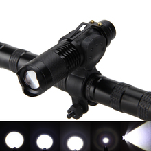 ZOOMABLE 2000Lm XM-L T6 LED 5 Mode Bike Lamp Bicycle Light + Torch Mount+18650+Charger