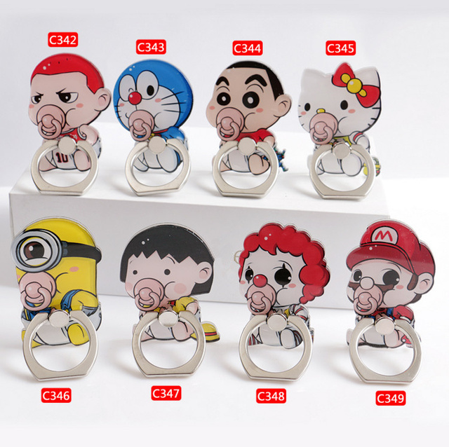 Babies Finger Ring Smartphone Holder 1