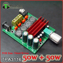 TPA3116 2.0 50W + 50W Digital power amplifier Completed board(China (Mainland))