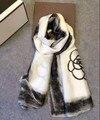 MS долго шелковицы шелковые шарфы весной и осенью новый ЛОГОТИП шарф зимний шарф шарф люксовый бренд écharpe hiver femme